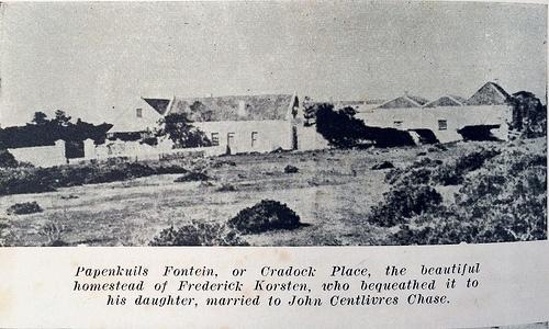 Papenkuilsfontein or Cradock Place