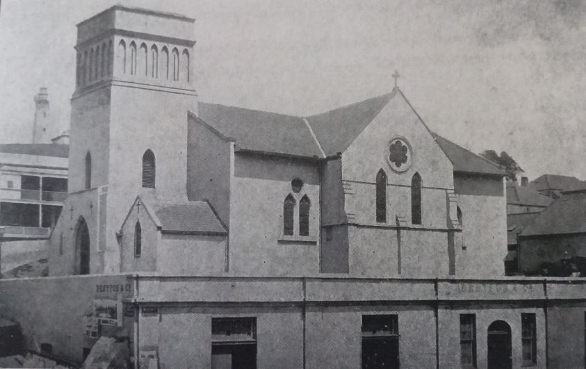 St Mary's Church in 1876