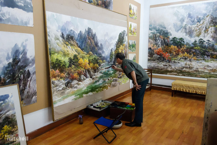 the-mansudae-art-studio-in-pyongyang-pictured-is-a-famous-north-korean-artist-responsible-for-beautiful-works-displayed-in-buildings-scattered-across-the-city