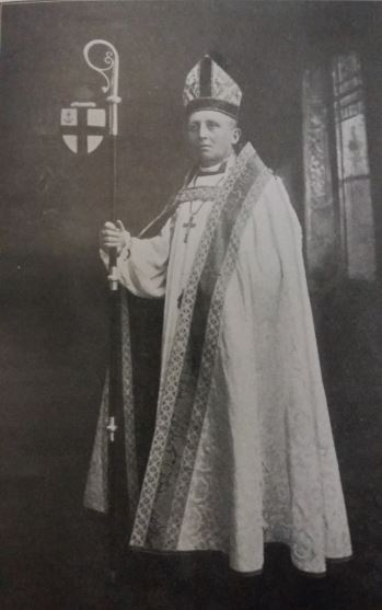 The Right Rev C.E. Cornish D.D. (oxon) Second Provost of St Mary's Church - picture taken in 1899