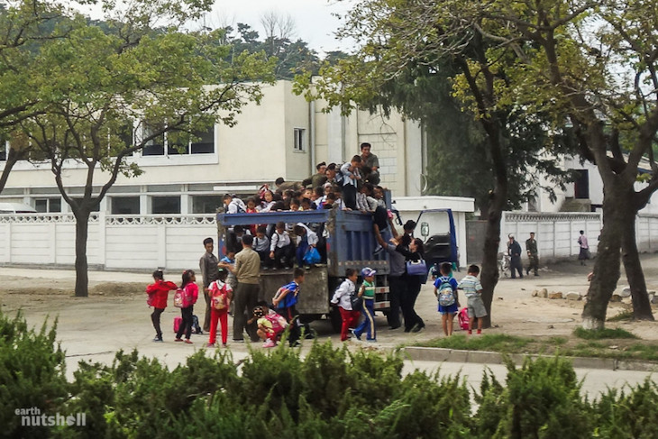 this-is-what-a-local-school-bus-looks-like-in-north-korea-children-stacked-up-on-top-of-one-another-for-transit