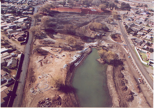 Thokoza Park before the reclamation