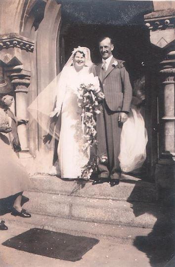 Wedding of Dorothy McCleland to Cecil John Farrington McCleland
