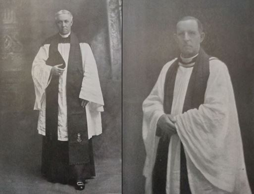 L-R: Rev A.T. Wirgman & Rev. C.E. Mayo