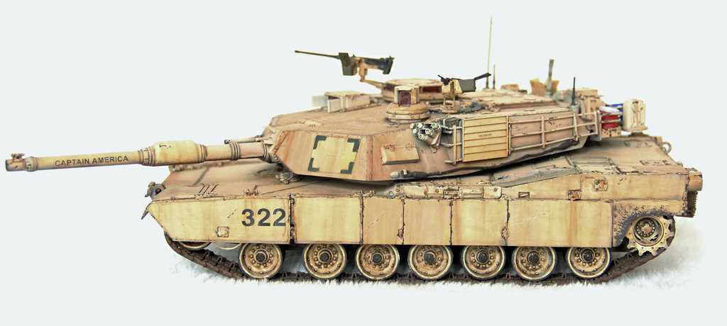 Abrams M1A2 Main Battle Tank
