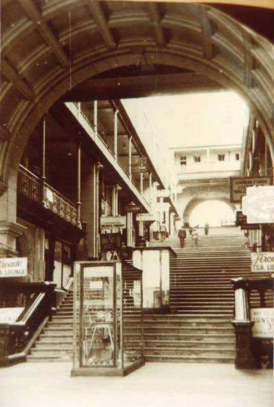 Mutual Arcade - Looking up to Chapel Street