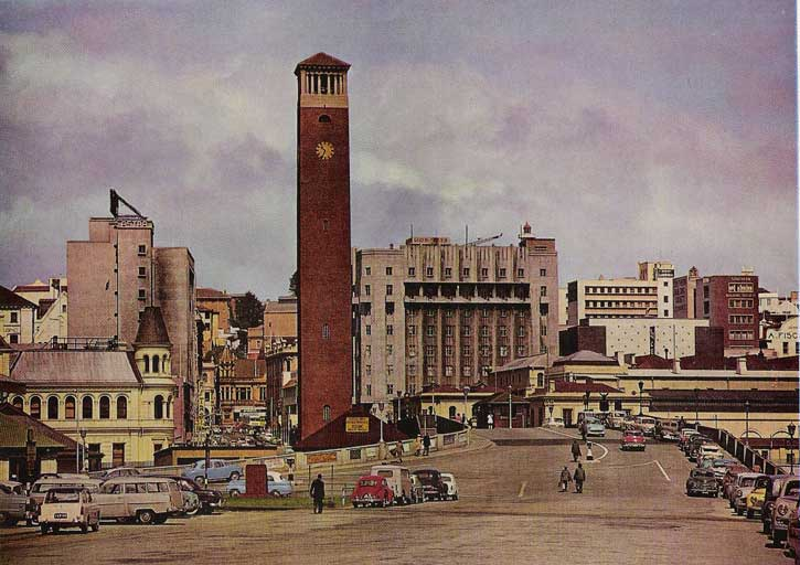 To the right of the Campanile, is the Campanile Hotel