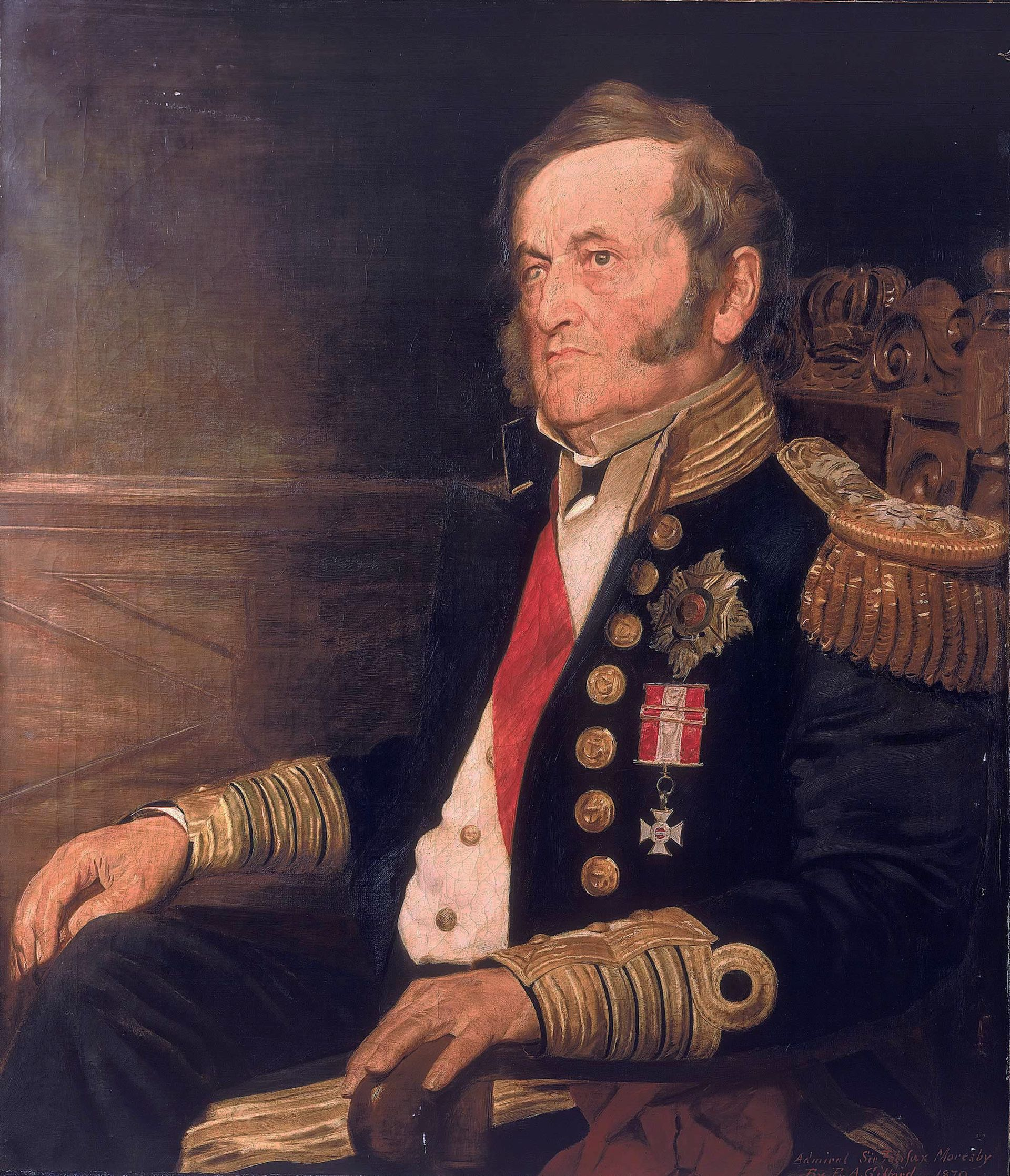 Captain Sir Fairfax Moresby