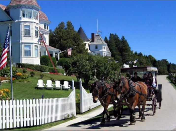 Cars have been banned on Mackinac Island, Michigan since 1898