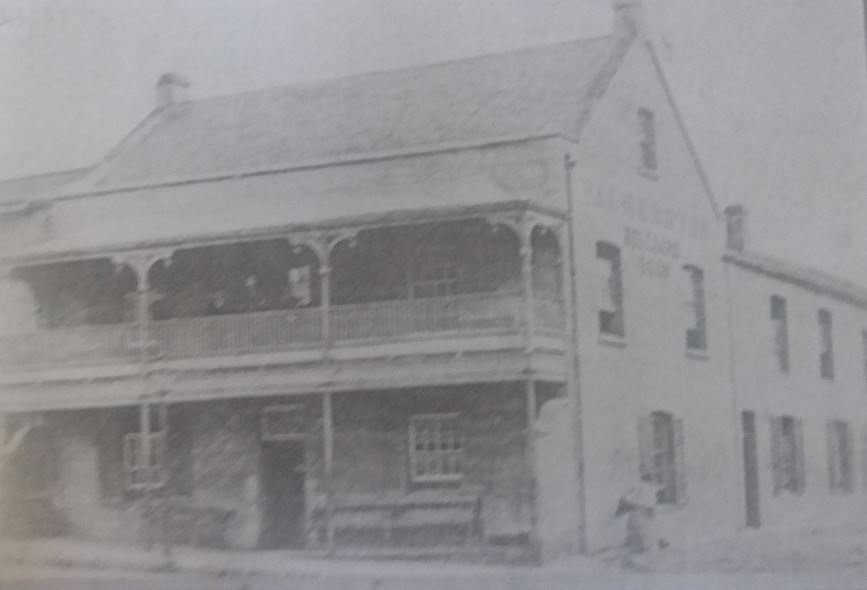 Earliest photograph of the Hotel with the name Palmerston on it