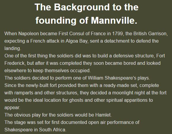 Founding of Mannville