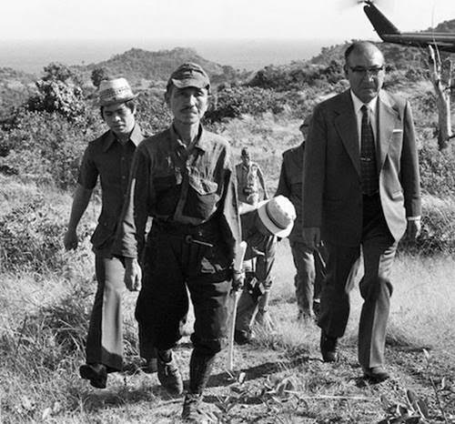 Hiroo Onoda, an Imperial Japanese Army intelligence officer who fought in WW2, held his position in the Philippines and refused to surrender until 1974