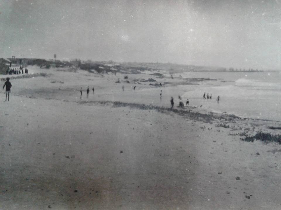 Humewood Beach in the early 1900s