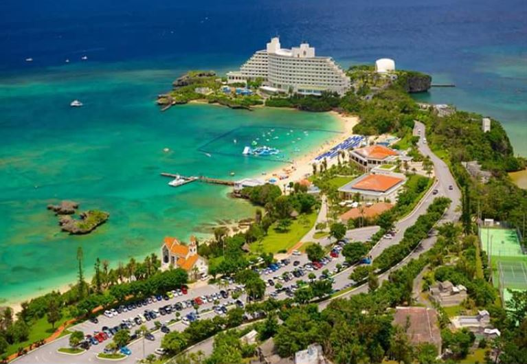 Okinawa has 450 people living on it greater than 100 years of age making it the healthiest place on earth to live
