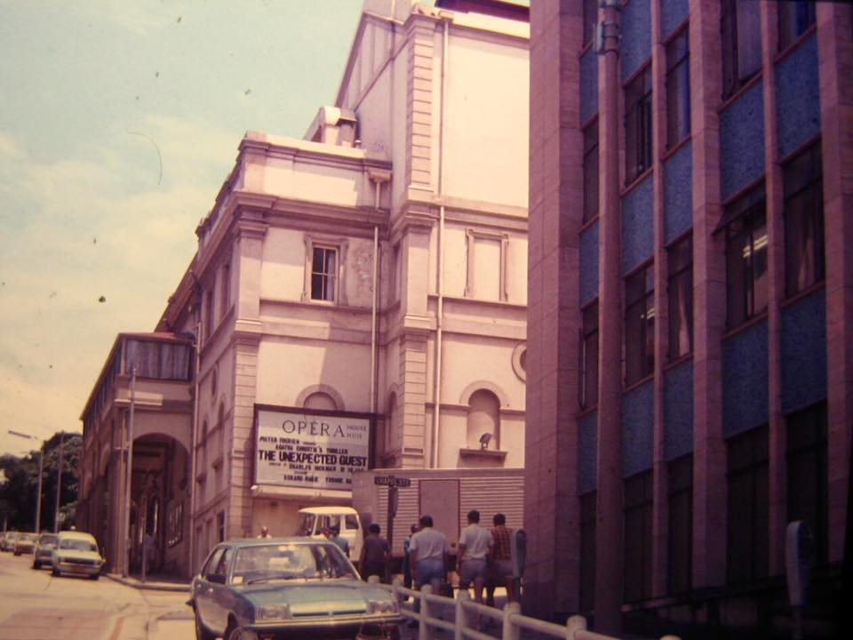 The Opera House in the 1980s
