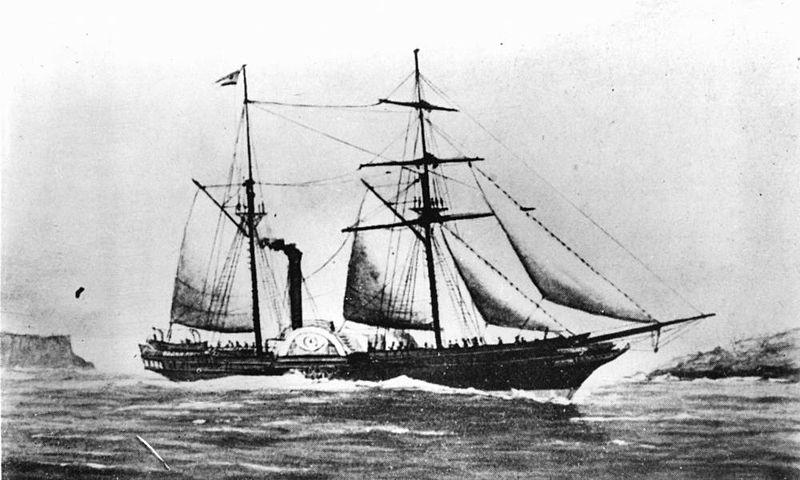 Phoenix paddle steamer
