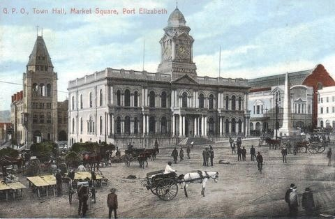 Post Office, Town Hall & Market Square