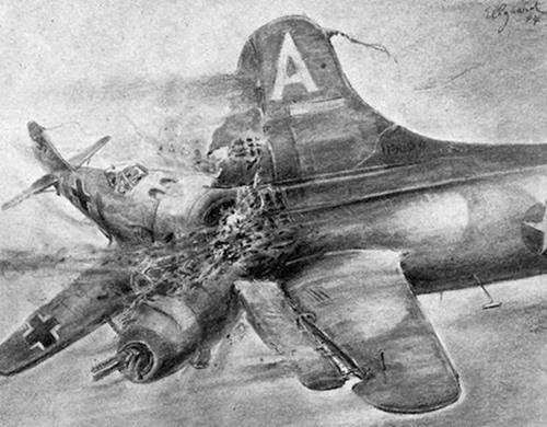 Russian pilots destroyed hundreds of German aircraft by ramming them in midair