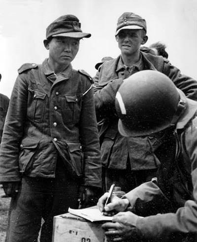 Some of the first Germans captured during the invasion of Normandy weren't German at all, they were Korean