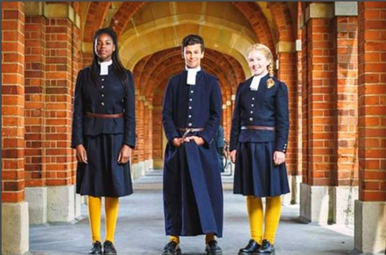 There is a school in Britain which has had the same school attire for 460 years