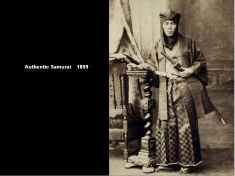 Authenic Samurai in 1859