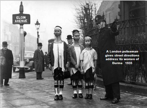 Burmese women in London