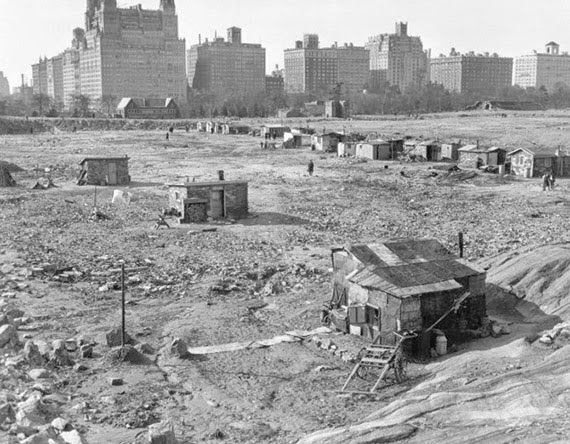 Central Park in 1930