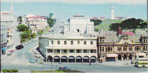Cleghorn's & Harris on the corner of Main Street & White's Road