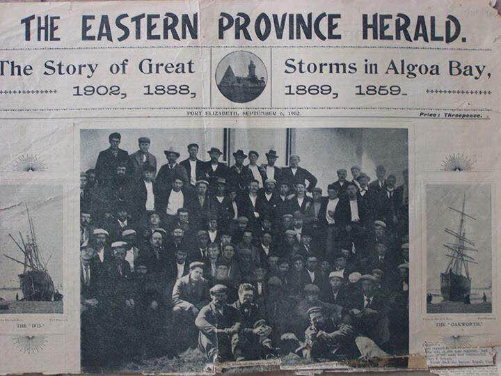 Gales as reported in the Eastern Province Herald