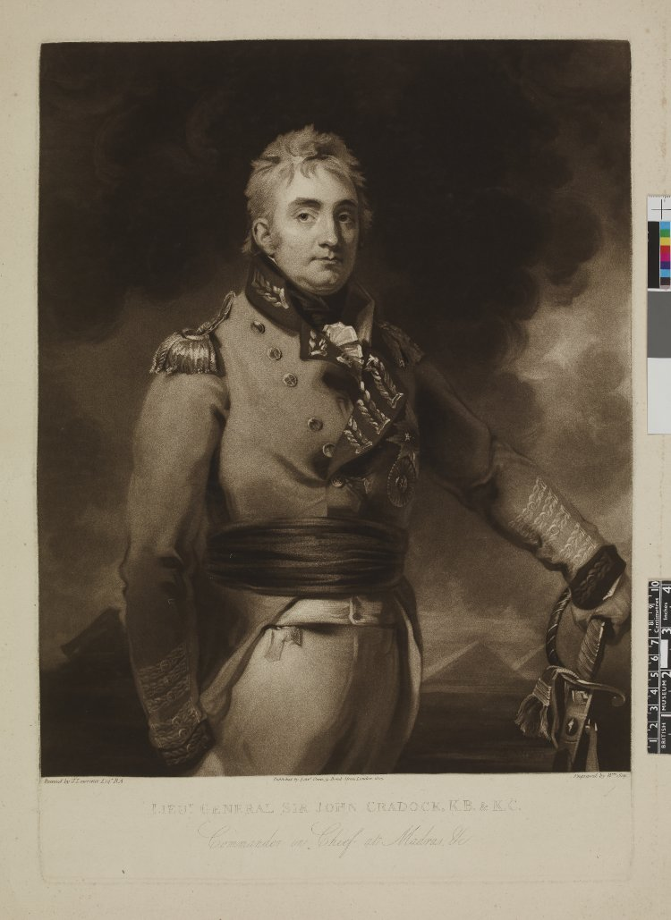 General Sir John Cradock, K.B. & K.C.