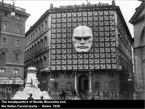 Headquarters of the Italian Fascist Party