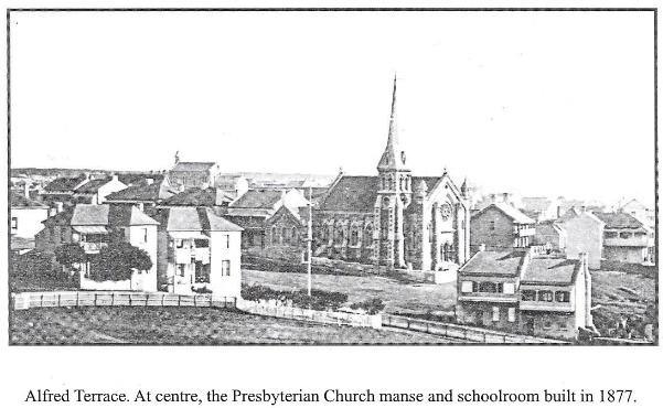 Hill Presbyterian Church in late 1800s