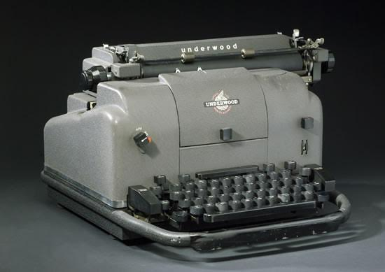 I never thought I'd see the day all our kitchen appliances would be electric. They're even making electric typewriters now.