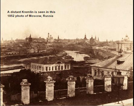 Kremlin in 1852