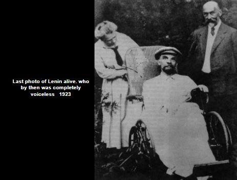 Last photo of Lenin alive