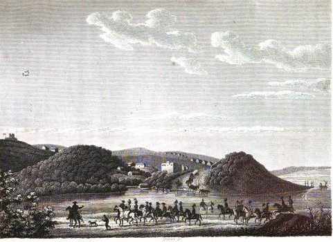 Lichtenstein's view of the Baakens River & Fort Frederick