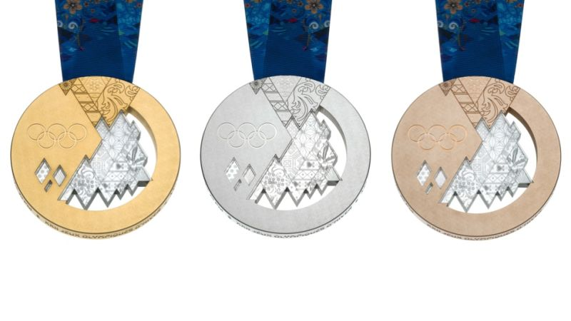 Medals at the 2014 Winter Olympics