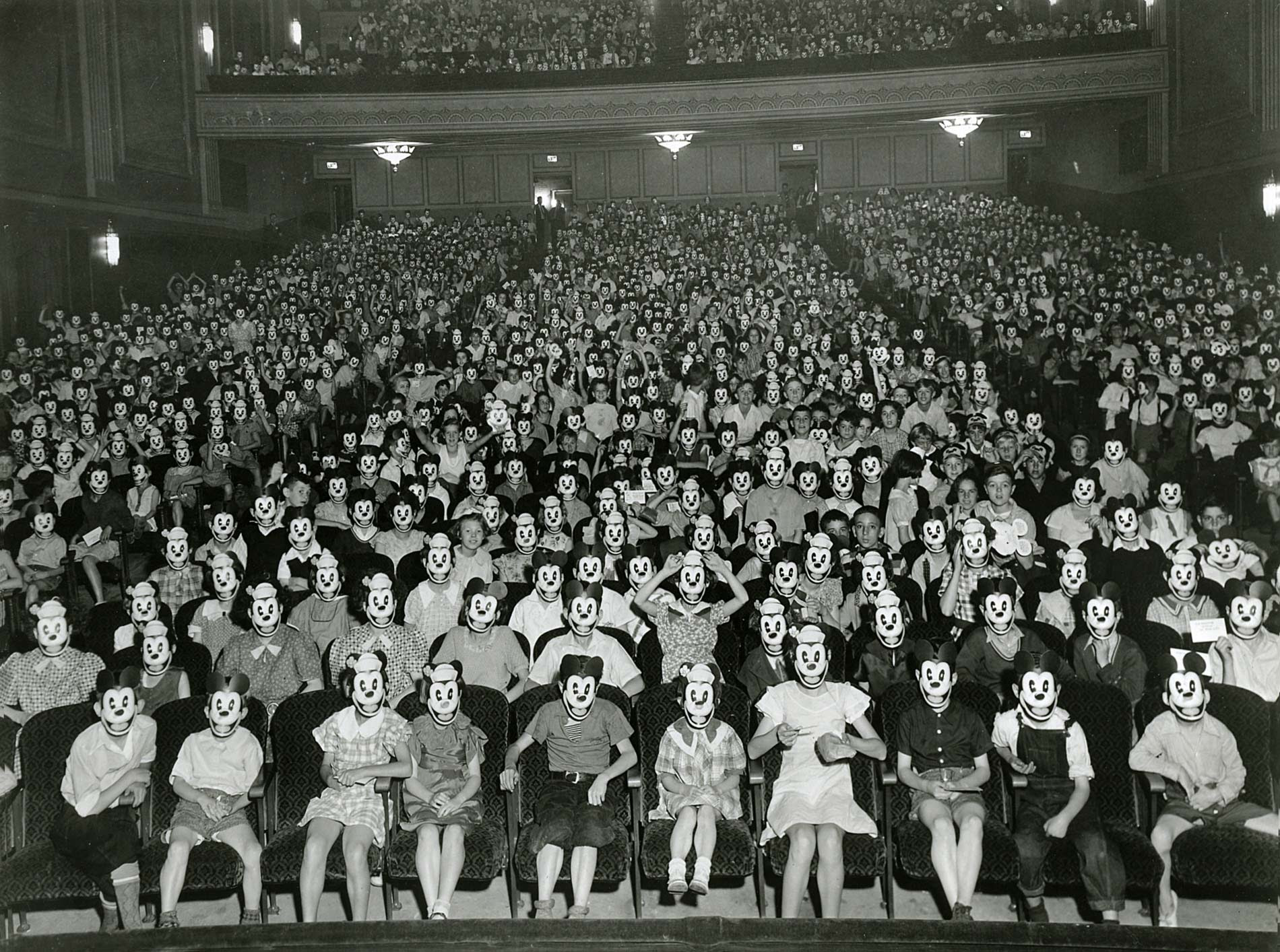 Meeting of the Mickey Mouse Club, early 1930s