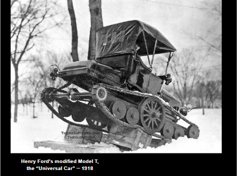Modified Model-T Ford
