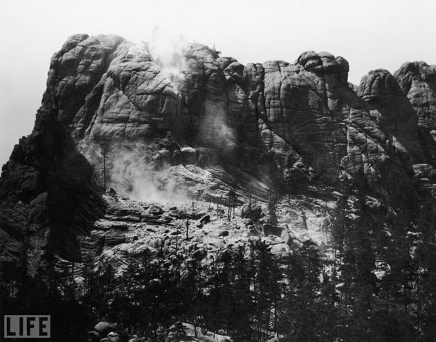 Mount Rushmore Before Carving, 1920s
