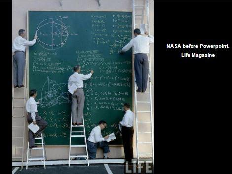 NASA before Powerpoint
