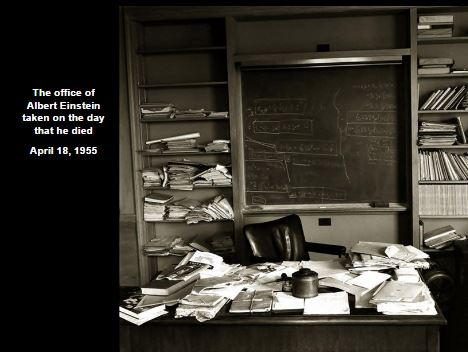 Office of Albert Einstein after his death