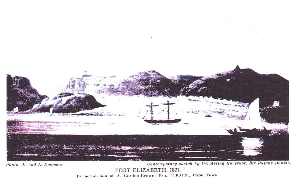 Port Elizabeth in 1821