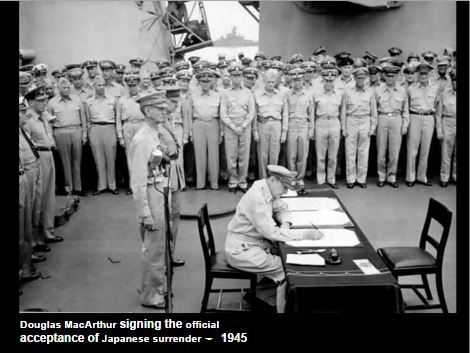 Signing the Deed of Surrender