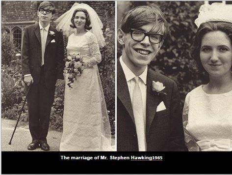 Stephen Hawkings getting married