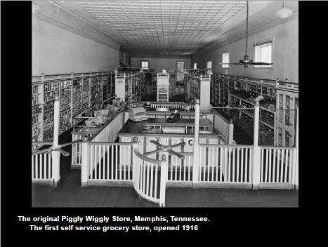 The first self service store