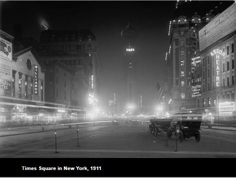 Times Square in 1911