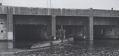 U-boat bunker in Lorient