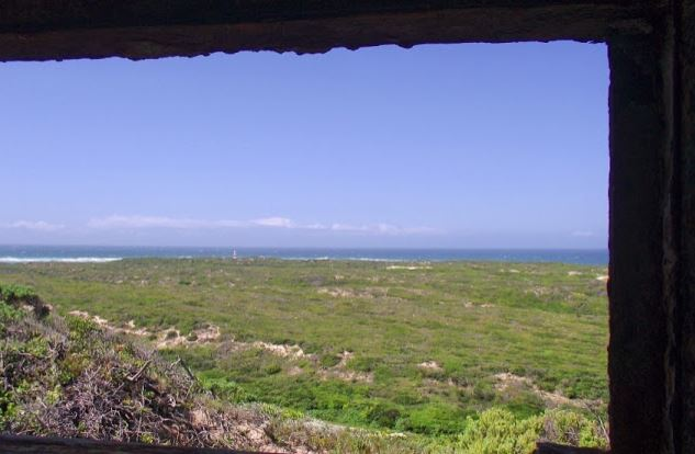 View from the Cape Recife Forward Observation Post