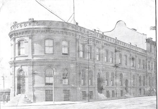 Building of MM Steytler & Co in 1892 in Strand Street. Designed by EJ Sherwood